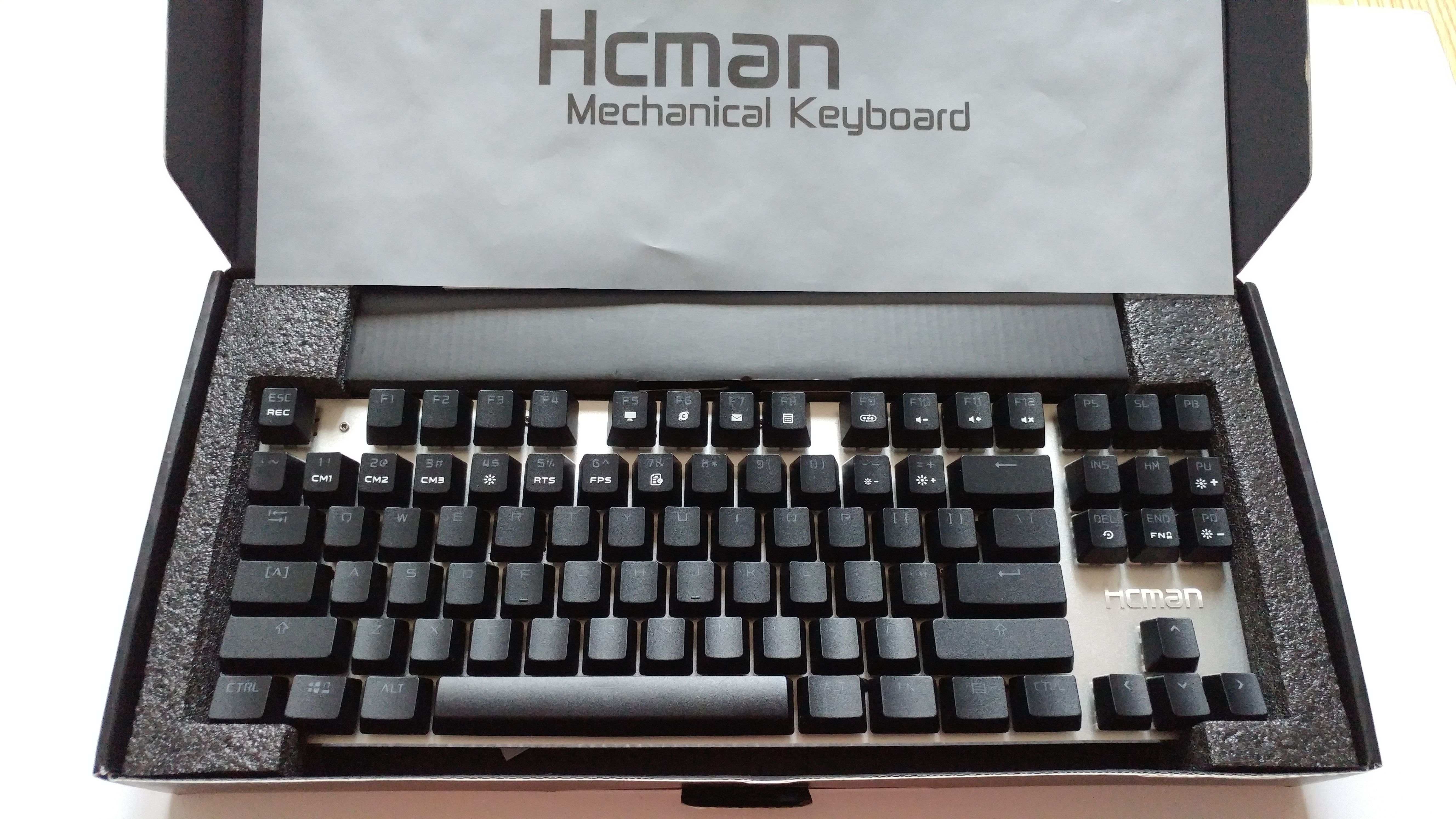 eb684bd59cd The Hcman Gaming Keyboard: An Inexpensively Reliable Mechanical Keyboard! |  Games With Coffee